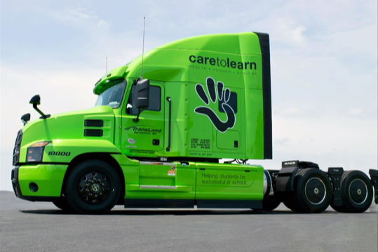 TRANSLAND TRUCKING'S AND CARE TO LEARN FOUNDATION