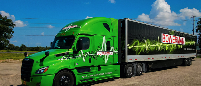 Bowerman Trucking Wins Flashiest Fleet on AO401 Octane's!